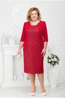 Платье Нинель Шик 7213 красный фото 1