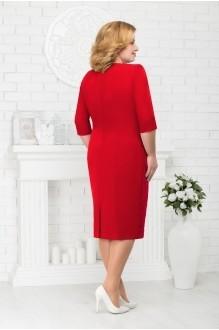 Платье Нинель Шик 7213 красный фото 2