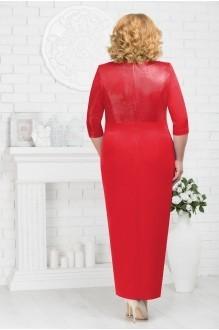Платье Нинель Шик 7216 красный фото 2