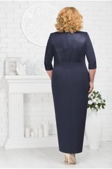 Платье Нинель Шик 7216 темно-синий фото 2