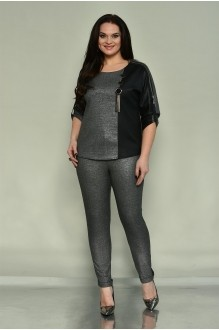 SolomeaLux 548 серый с чёрным