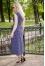 573С на сине-джинсовом фоне белый горох №370595