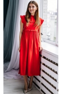 Платье Colors of PAPAYA 1262 алый фото 1