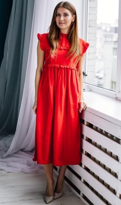 Платье Colors of PAPAYA 1262 алый
