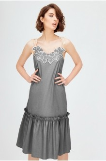 Платье Colors of PAPAYA 1269 серый фото 1
