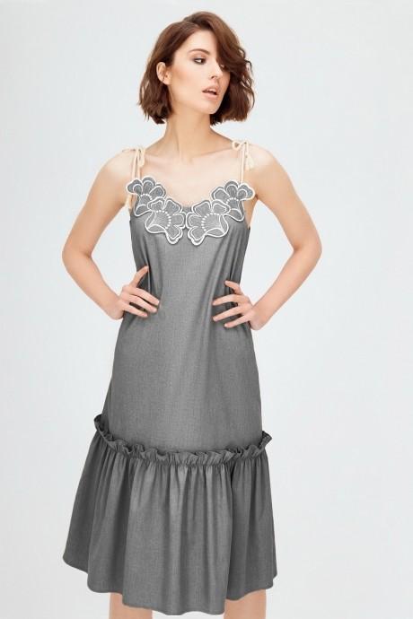 Платье Colors of PAPAYA 1269 серый