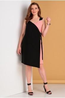 Лиона-Стиль 703 черный с розовым