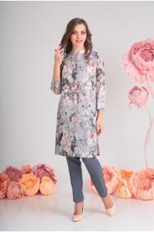 SandyNa 13396-1 серый розы