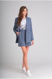 SandyNa 13571 голубой под джинс