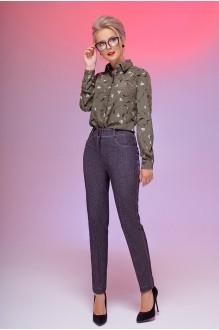 Euro-moda 186 серый