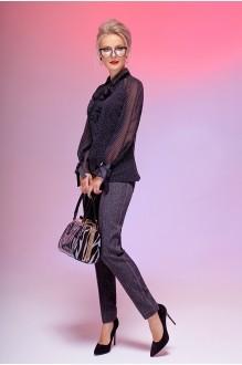Euro-moda 180 черный в горох