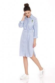 Платье PiRS 392 голубой фото 1