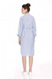 Платье PiRS 392 голубой фото 2