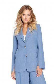 Жакет (пиджак) PiRS 775 голубой фото 2