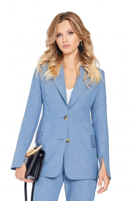 Жакет (пиджак) PiRS 775 голубой
