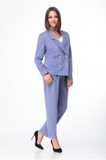 Либерта 499 -1 сиренево-голубой
