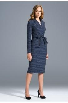SOLEI 3324 юбка синие тона