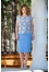 225 голубая блуза/голубая юбка №386709