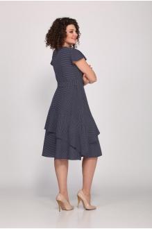 Платье Angelina Design Studio 449 синий / мельче горох фото 2