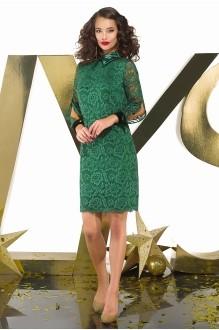Платье Люше 1649 зелёный фото 1
