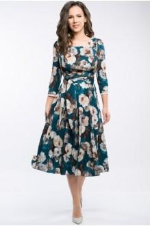 Платье Teffi Style 1217 малахит фото 2