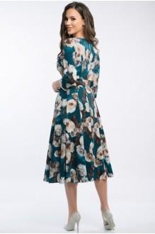 Платье Teffi Style 1217 малахит фото 3