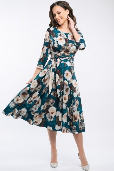 Платье Teffi Style 1217 малахит