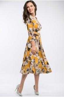 Платье Teffi Style 1217 куркума фото 2