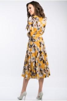 Платье Teffi Style 1217 куркума фото 3