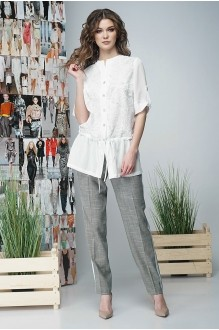Fantazia Mod 3385 брюки с оливковыми точками