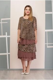 Надин-Н 1497/6 коричневый леопард