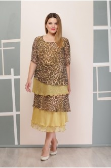 Надин-Н 1497/5 горчица-леопард