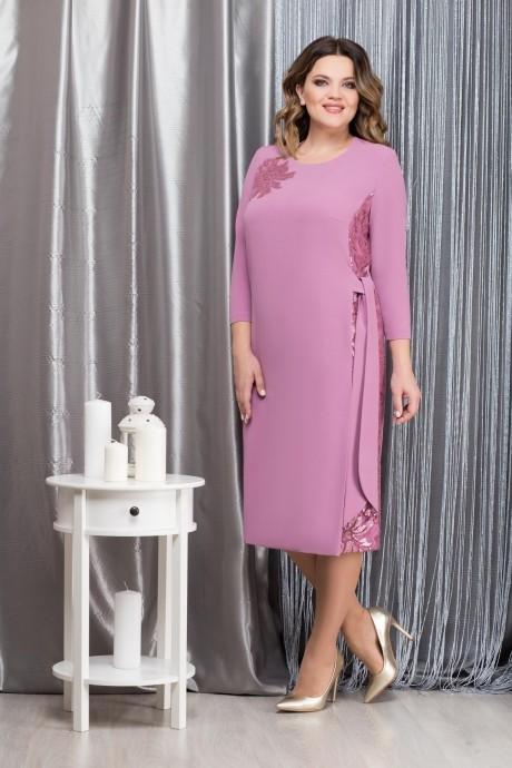 Платье Надин-Н 1593 _2 сирень