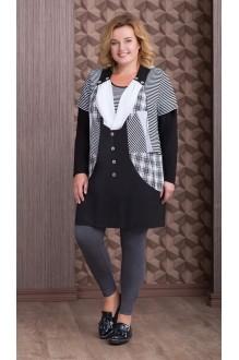 Aira Style 638 черно-белый с серым