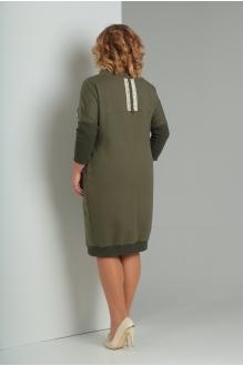 Платье Diomant 1346 олива фото 3